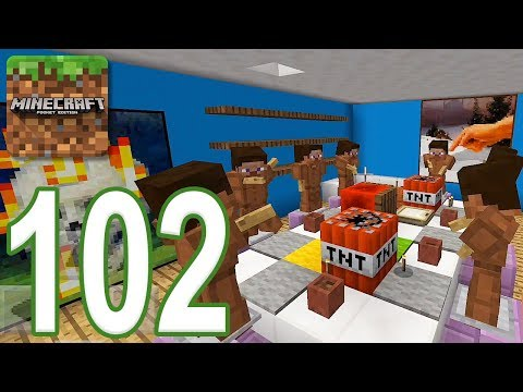 Minecraft: PE – Gameplay Walkthrough Part 102 – Find The Button: Months Edition (iOS, Android)