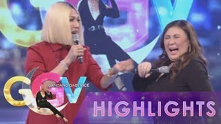 Vice Ganda tries to convince Sharon Cuneta to smell his armpit.  Subscribe to the ABS-CBN Entertainment channel! - http://bit.ly/ABSCBNOnline  Watch the full episodes of Gandang Gabi Vice on TFC.TV   http://bit.ly/GGV-TFCTV and on IWANT.TV for Philippine viewers, click: http://bit.ly/GGV-IWANTv  Visit our official website!  http://entertainment.abs-cbn.com http://www.push.com.ph  Facebook: http://www.facebook.com/ABSCBNnetwork  Twitter:  https://twitter.com/ABSCBN https://twitter.com/abscbndotcom Instagram: http://instagram.com/abscbnonline  #SharonCunetaOnGGV #MegaStarSharonCuneta #GandangGabiVice