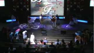 "Honoring Pastor Randy Morrison, STWCI dance team, Song artist:""Donald Lawrence- Beautiful Feet"