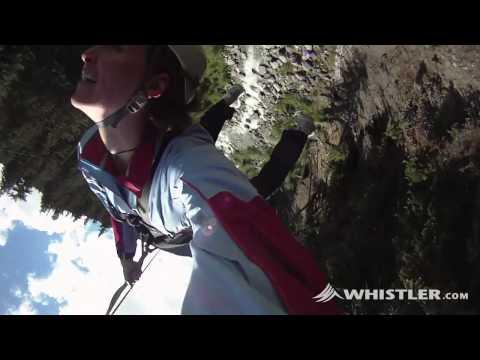 Whistler ziplining  - © Whistler Tourism