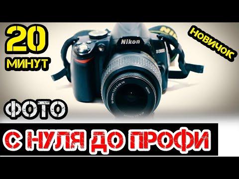 Обучение ФОТО за 20 минут в ручном режиме / бюджетная камера / Настройка фотоаппарата #ДомаВместе