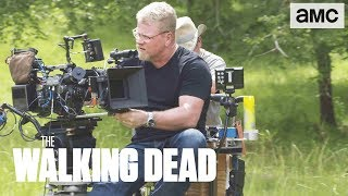 'Jesus & Aaron's Confrontation' Making of Ep. 907 BTS | The Walking Dead