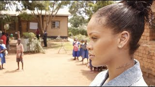 Thumbnail for Inside Rihanna's Trip to Malawi for Education