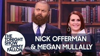 Megan Mullally and Nick Offerman Read an Excerpt from The Greatest Love Story Ever Told