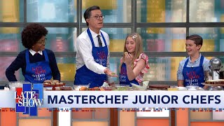 Stephen Whips Up Delicious Desserts With The Kids From MasterChef Junior