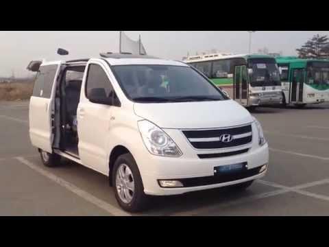 Hyundai Grand Starex (H-1) 4WD, LD-мост, VDC, 12-мест, 2500сс дизель