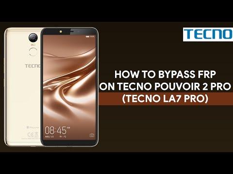 How To Bypass FRP On Tecno Pouvoir 2 Pro (Tecno LA7 Pro) - [romshillzz]