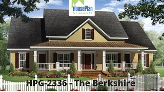HPG-2336-1 2,336 SF, 4 Bed, 2.5 Bath Country House Plan By House Plan Gallery