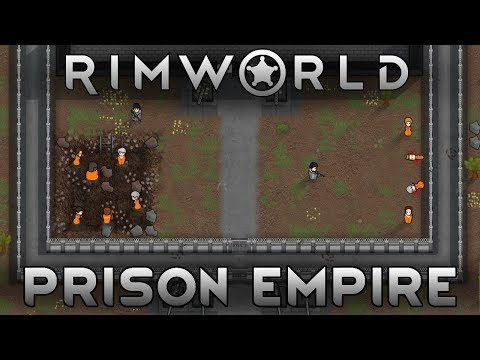 [3] Stop Running Away, I Just Want To Shoot You! | RimWorld Prison Empire