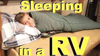 First Time SLEEPING In Our Motorhome 🚐 RV Trip Southern Utah