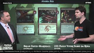 Pro Tour Battle for Zendikar Deck Tech: Atarka Red with Paulo Vitor Damo Da Rosa