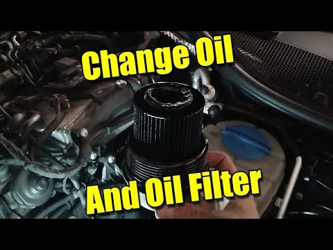 How to Change Oil and Filter on Audi A6 G4 C7 2.0 TDI 2016