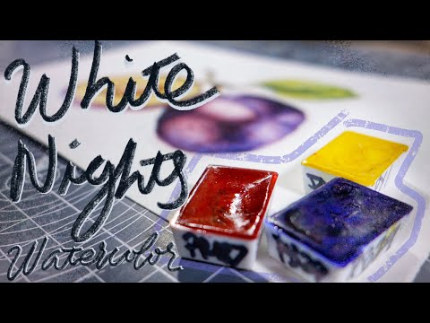 St. Petersburg White Nights Watercolors | Art Supply Review