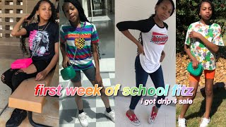 Ootw: First Week Of School Edition + Outfit Rates 🥵 | Highschool Outfit Ideas