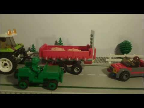 Vidéo LEGO City 7684 : La porcherie et le tracteur