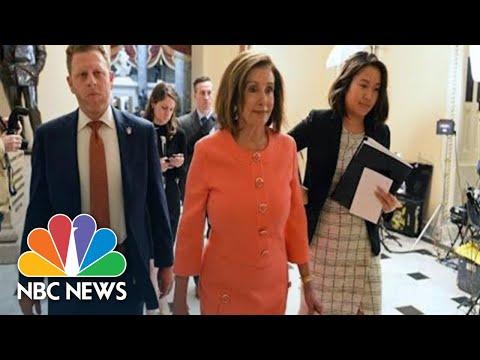 House Delivers Articles Of Impeachment To The Senate | NBC News (Live Stream Recording)