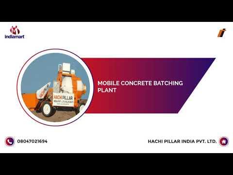 Concrete Batching Plant and Wet Mix Plant Manufacturer | Hachi