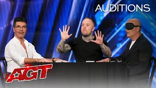 Simon Cowell Controls Howie Mandel's MIND?! Ryan Tricks Shocks Us All! - America's Got Talent 2020 thumbnail
