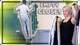 Throwing Away His Entire Wardrobe! (So Upset)