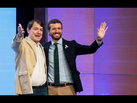 """Mañueco: """"Este es nuestro momento, el momento de Pablo Casado. El futuro se llama Partido Popular"""""""