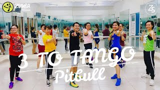 3 TO TANGO (Salsaton)   Pitbull   Zumba Fitness   Dance Fit   ZS Crew Thanh Truong