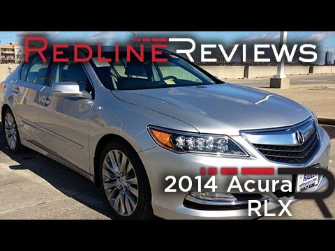 2014 Acura RLX Car Review Video