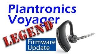Plantronics Voyager Legend firmware update
