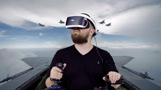 Летаю в PS VR: перегрузка 5G - укачало в слюни