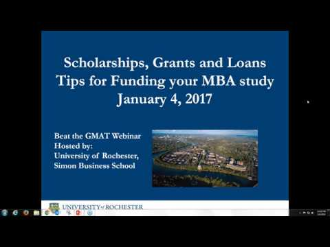 Scholarships, Grants & Loans: Tips for Funding Your MBA