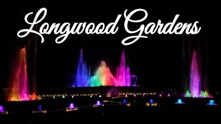 Songs You Know By Heart - Fountain Show Longwood Gardens 4K 2019