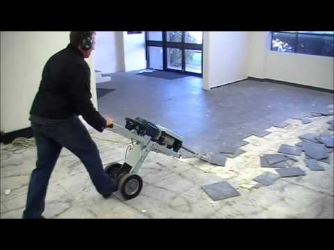 Jackhammer Trolley Makinex - Best chisel for removing tile