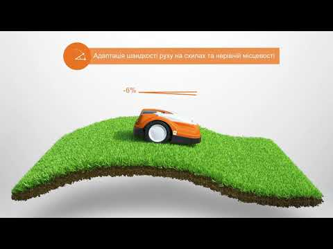 Аккумуляторная газонокосилка-робот STIHL iMow RMI 632 PC Video #1