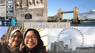 london vlog | winter break, right before corona virus strikes