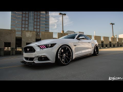 2016 Ford Mustang GT with 20