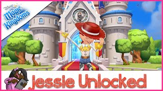 Toy Story's Jessie Unlocked | Disney's Magic Kingdom Mobile Game