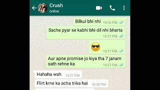 How to impress a UNKNOWN girl on chat .How to start conversation online.[ HINDI ]