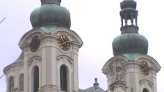 preview picture of video 'Karlovy Vary - the Maria Magdalena Church'