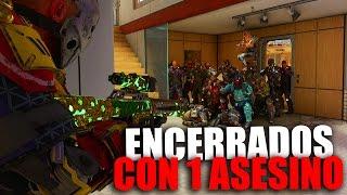 ENCERRADOS CON 1 ASESINO - Minijuego Black Ops 3