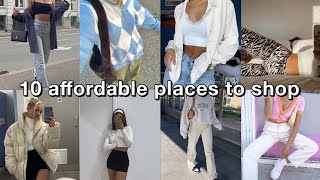 10 online stores to get AFFORDABLE trendy clothes | best places to shop online for trendy clothes