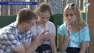 В Крестецком районе проходит первый форсайт-кэмп «Новгородская область 20.35»