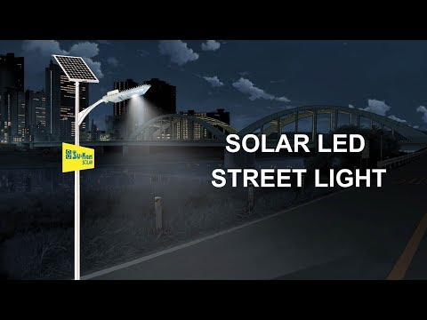 Solar Led Street Light Solar Light Emitting Diode Street