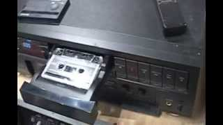 Two Cassette decks, a Teac and a Optimus DCC!