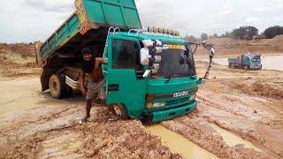 วันนี้วิ่งแบบลื่นๆจัดหนัก dump truck excavator 25 สิงหาคม ค.ศ. 2018