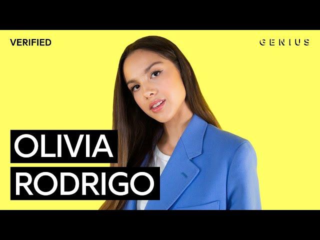 Video Pronunciation of Olivia Rodrigo in English