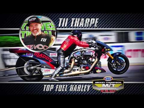 2018 Mickey Thompson Top Fuel Harley Champion Tii Tharp