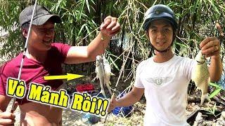 Câu cá giật liên tục và cái kết của cây cần câu bùa/Nhờ Mồi Câu Siêu Nhạy/fishing/NGÃ NĂM TV