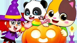 Halloween Witch, Pumpkin Patch | Nursery Rhymes | Kids Songs | Kids Cartoon | BabyBus