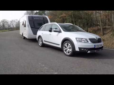 The Practical Caravan Škoda Octavia Scout review