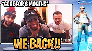 TSM OPscT is FINALLY Back on Twitch! (Daequan, Myth and Hamlinz SURPRISE!) - Fortnite Moments