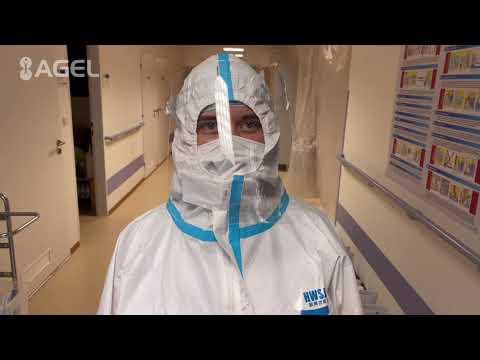 Video: Centrální sterilizace pomáhá kolegům z covidových oddělení